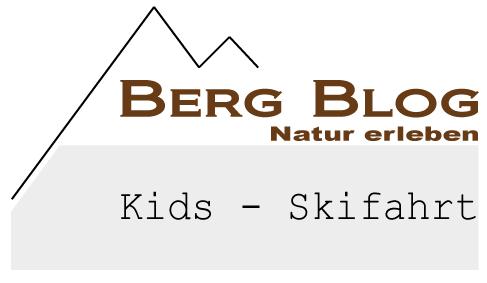 berg blog Kids Skifahrt - Logo