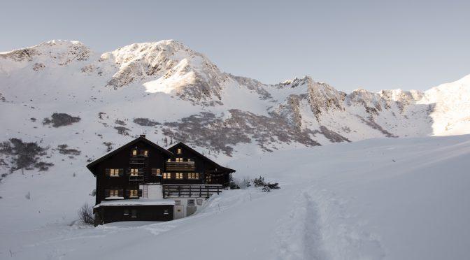 Schwarzwassserhütte, Januar 2017